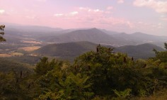 Along the Blue Ridge Parkway...