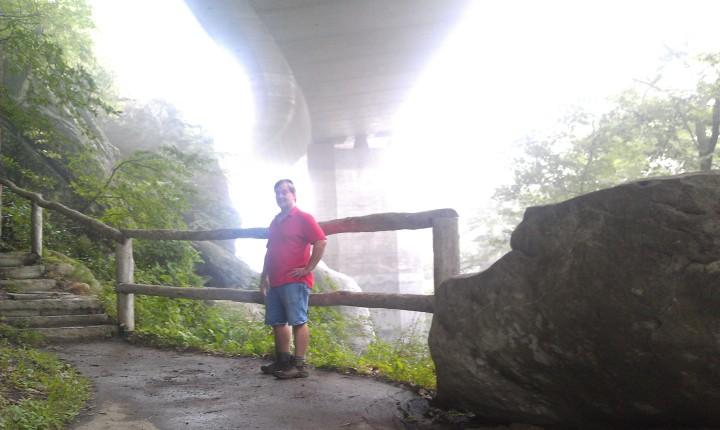 Under the Linn Cove Viaduct