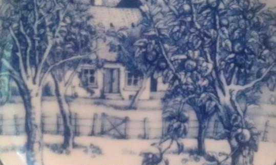 Orchard Cottage Dessert Plate
