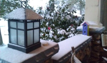 KHAN: Some snow!