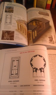 Visual Reference Guide and Annotated Arch compare the Parthenon in Athens and the Pantheon in Rome.