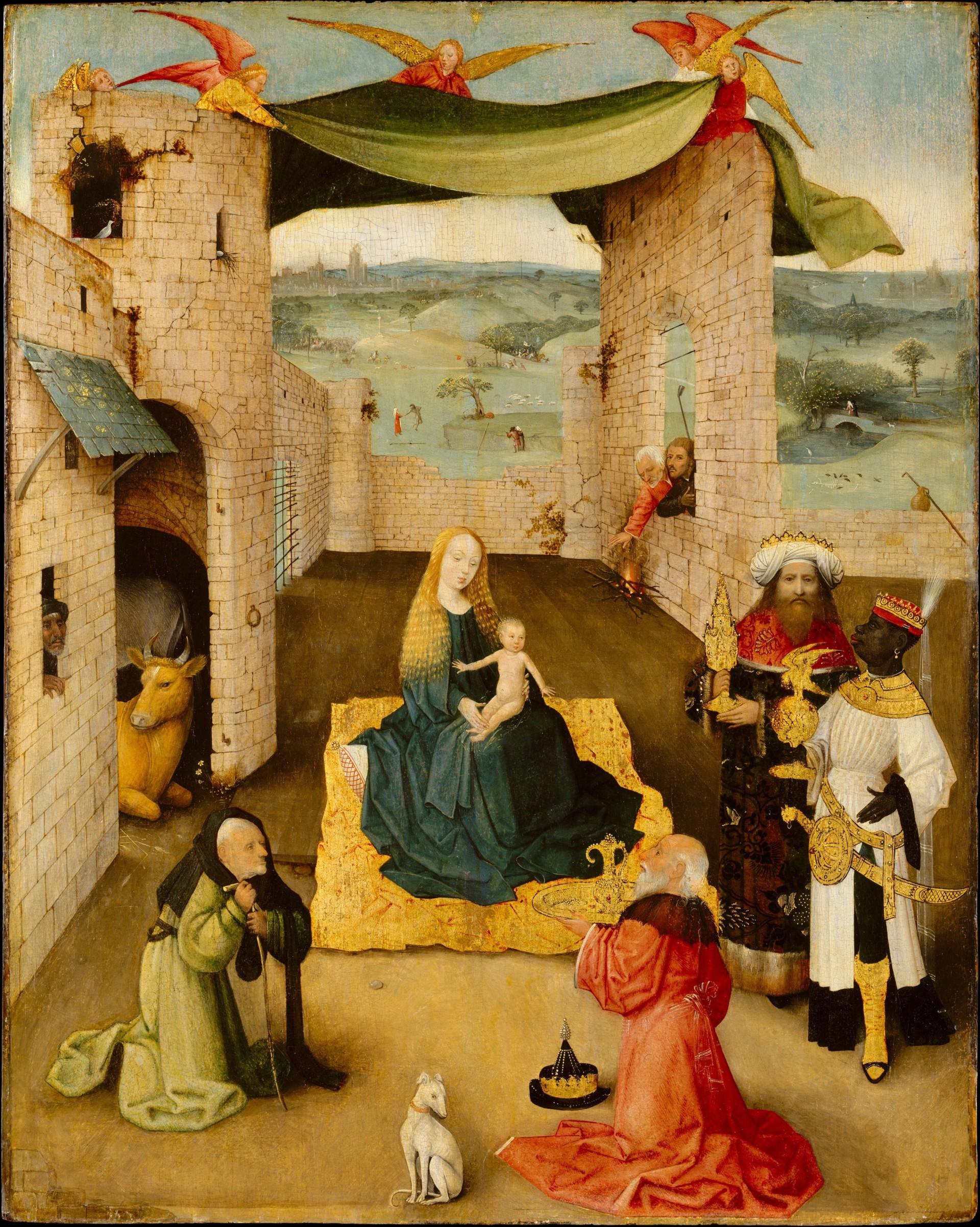 Adoration of the Magi Bosch