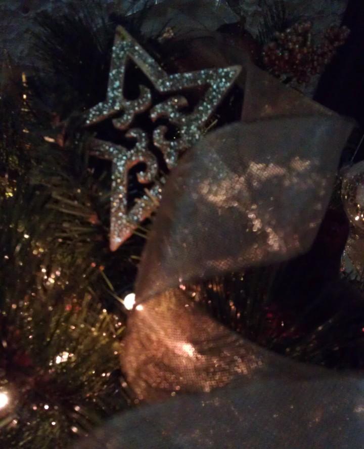 ribbon ornament for heavens tree
