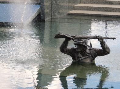 Soldier wading through water Nikon_Summer_2013 135
