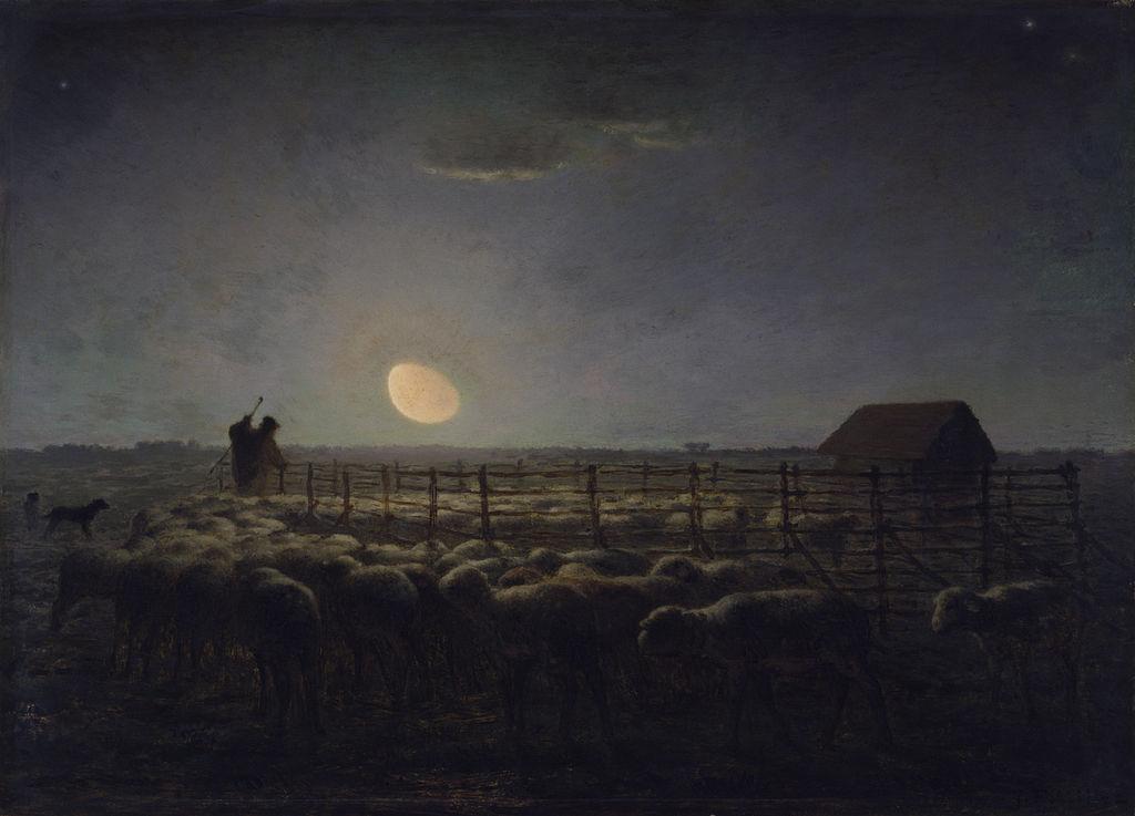 1024px-Jean-François_Millet_-_The_Sheepfold,_Moonlight