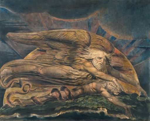 William Blake, God Creating Adam c1795