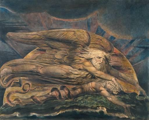 William Blake, God Creating Adam c1795