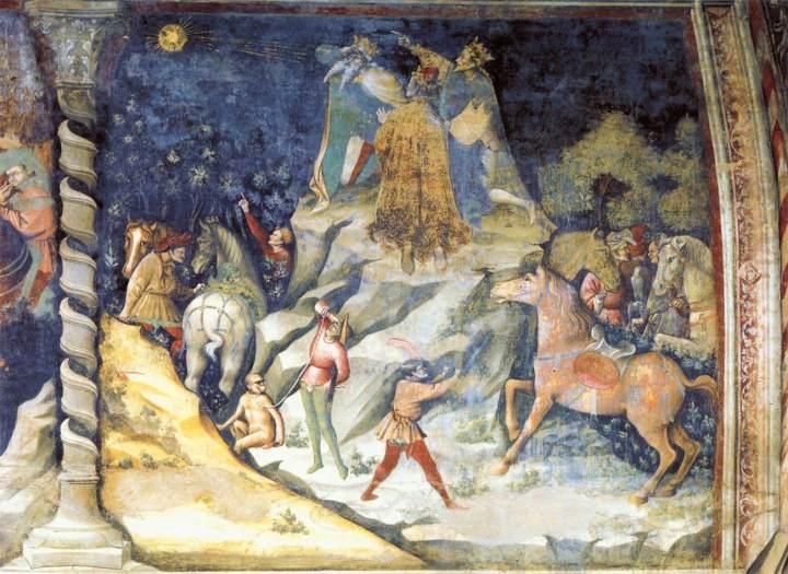 The Appearance of the Star Giovanni da Modena c 1412 fresco