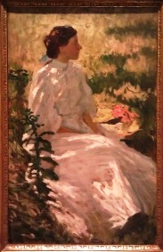 A Study in White; Charles Webster Hawthorne c 1900 Founded the Cape Cod School of Art