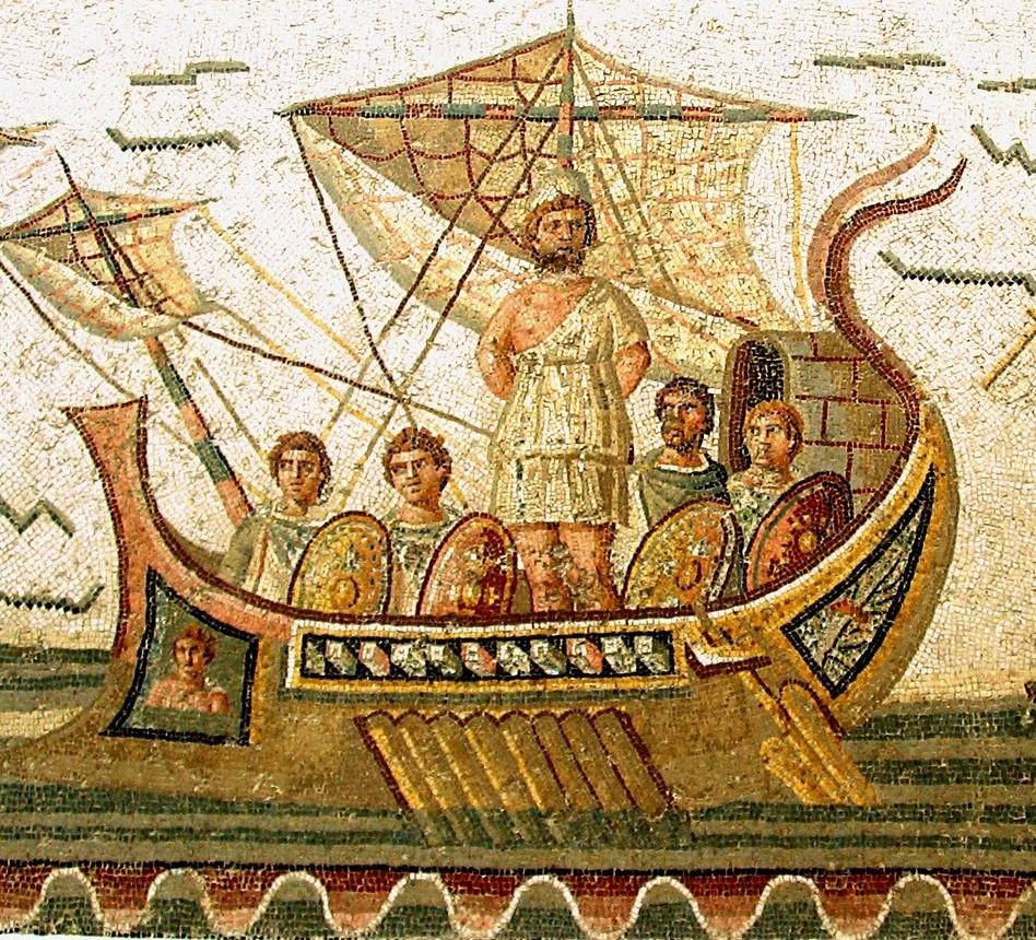 Odysseus/Ulysses and crew