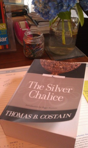 I finally finished The Silver Chalice by Thomas Costain.