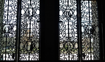 Metalwork Doors to the Narthex of Cathedral