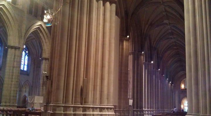 Massive Pillars at the Crossing