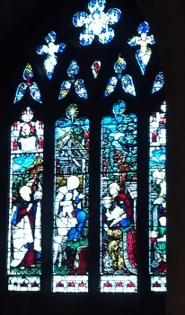 The Nativity Window in the Bethlehem Chapel