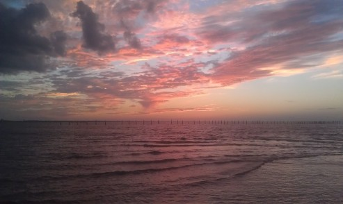 Sunset over the Chesapeake Bay