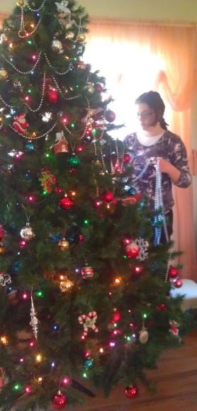Grandma Midges Tree!