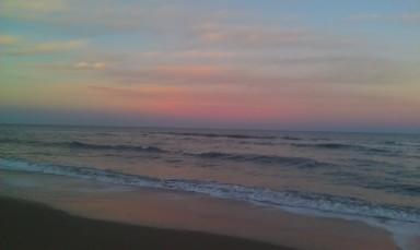 Smudgy Horizon Sandbridge