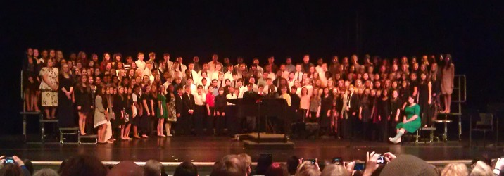 The Middle School District Chorus
