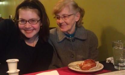 The Daughter & Grandma Midge at Rigoletto's