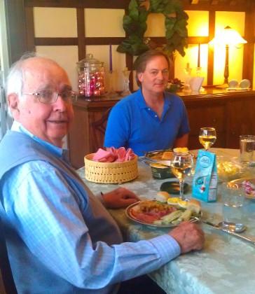 Papa Gene and Mr. Garner