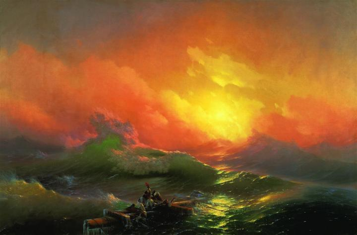 The Ninth Wave c1850 Ivan Aivazovsky