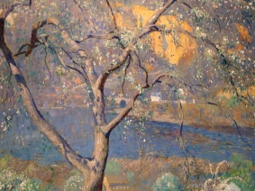 Detail, Buds and Blossoms, Daniel Garber, c1916