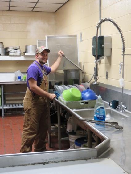 ASP Center Kitchen Duty