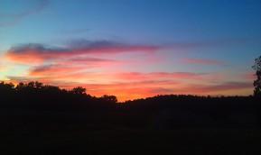 Sunset at Middle Ridge