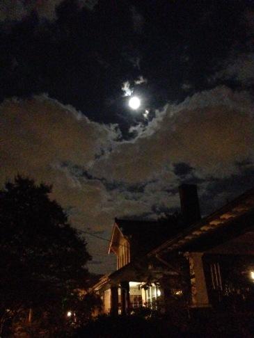 Bright October Moon