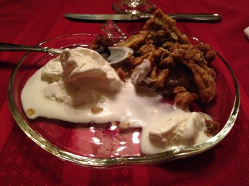 Mouthwatering Apple Crisp