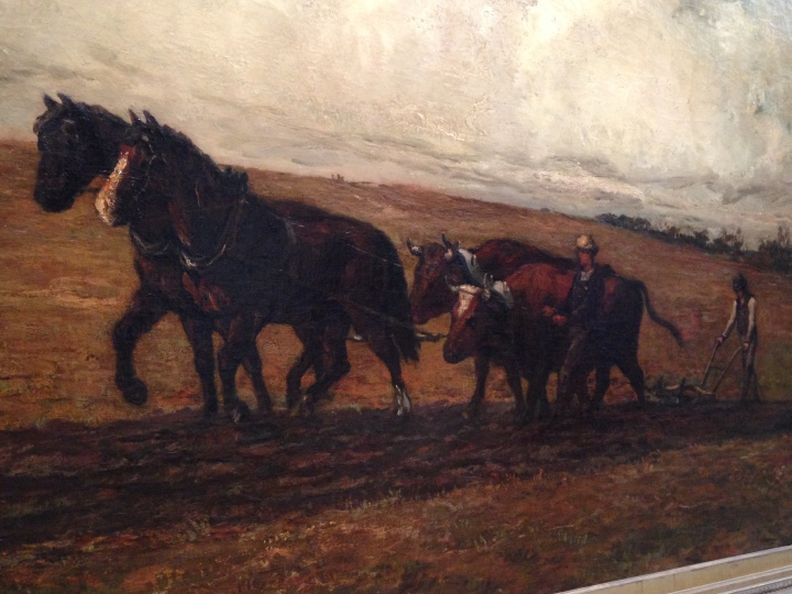 """""""Plow Horses"""" detail"""