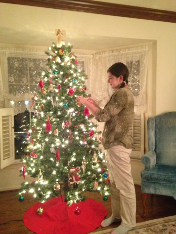 Do all the work on Papa Gene's tree.