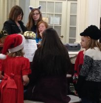 Singing Carols at Chesapeake Place Assisted Living