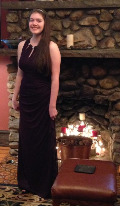 Winter Formal Daughter